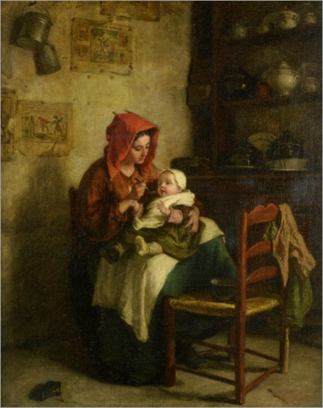 Frere_Pierre_Edouard_Feeding_Time_1863