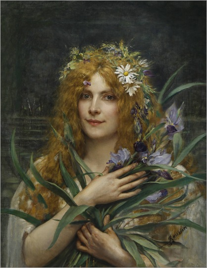 georges-roussin-french-born-1854--ophelia
