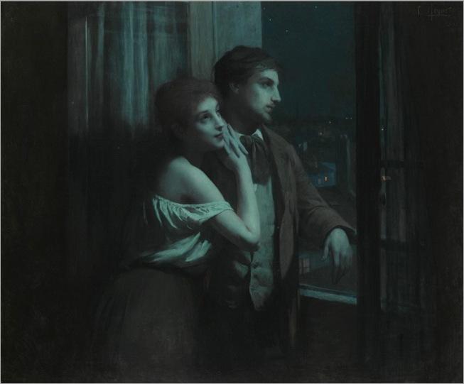 Lenoir_Charles_Amable_Reverie_1893