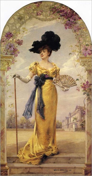 louise-abbema--retrato da sra duvelleroy