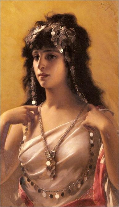 Luis_Ricardo_Falero_(1851-1896)_An_Oriental_Beauty