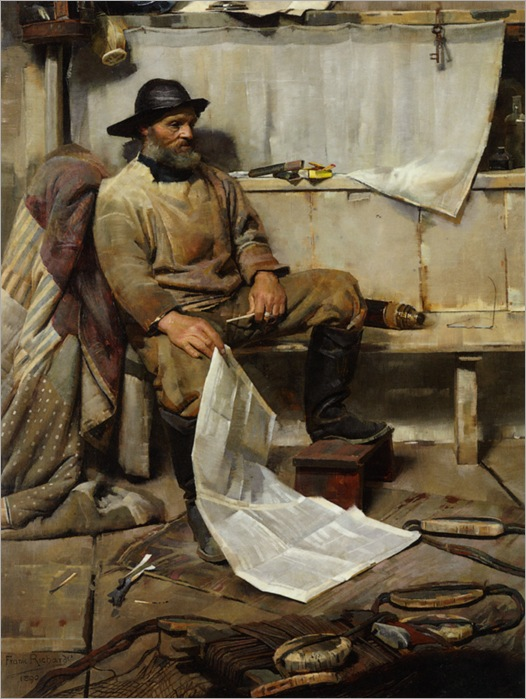 Richards_Frank_The_Fisherman_1890_1