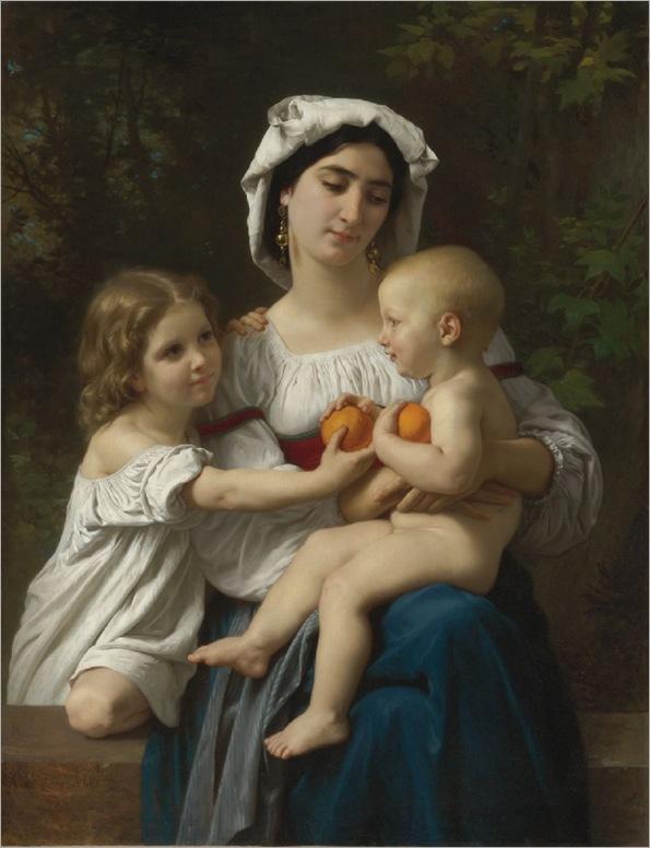 The Oranges-Bouguereau