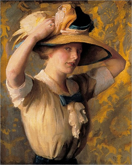 the-shade-hat-William-McGregor-Paxton