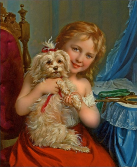 young_girl_with_bichon_frise_-_fritz_zuber-buhler_600x734