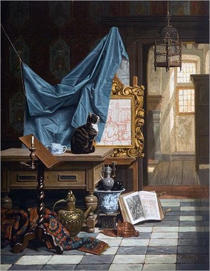 16.Charles Joseph Grips (Belgica,1825-1920)