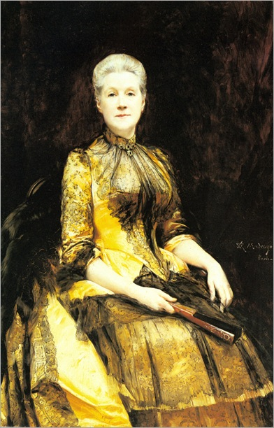 A Portrait of Mrs. James Leigh Coleman by Raimundo Madrazo, 1886