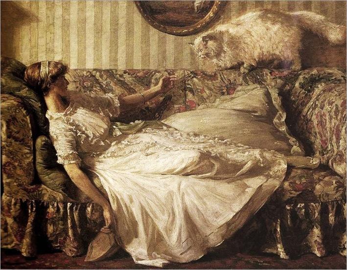 Charles D Ward (British artist, 1872-1935) The Obsequeous Persian 1911