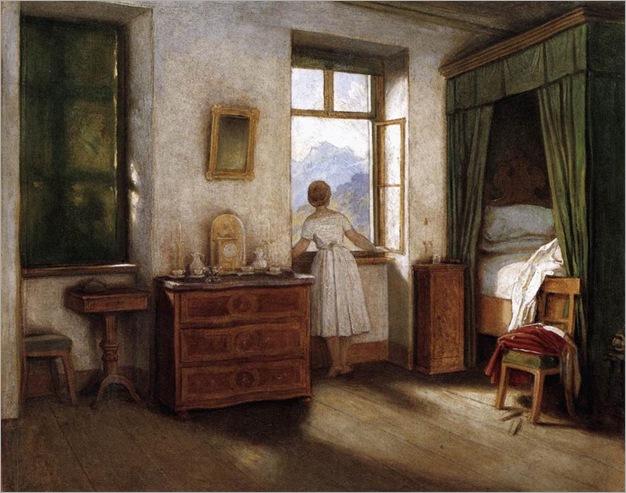 early-morning-Moritz von Schwind
