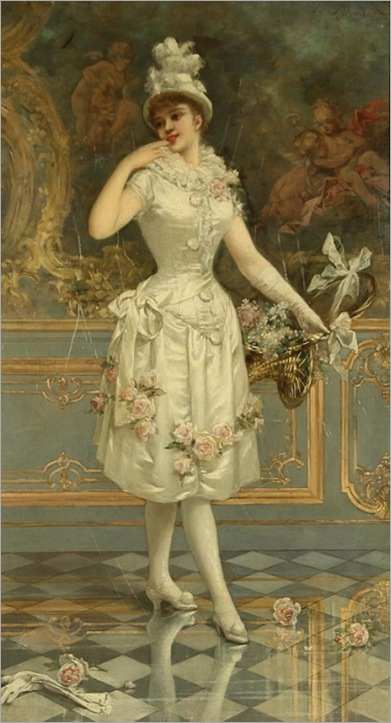 emile_eisman_semenowsky_polish-french_1857-1911__the_rose_beauty_1893