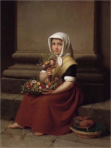 flower-girl-FRIEDRICH_BOSER