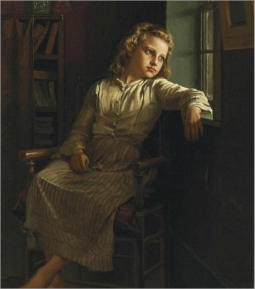 girl-at-the-window-JohnGeorgeBrown
