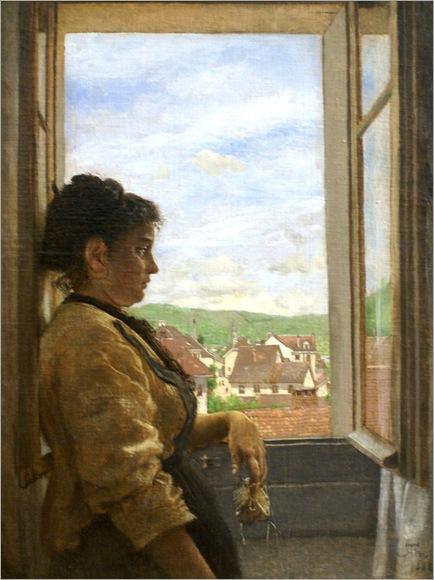 Hans_Thoma-at-the-window
