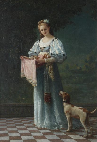 the-new-litter-Gustave-Doyen