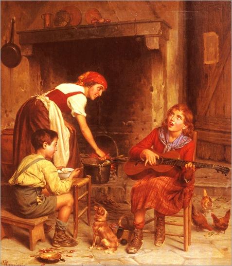 VittorioReggianini_serenading_the_family