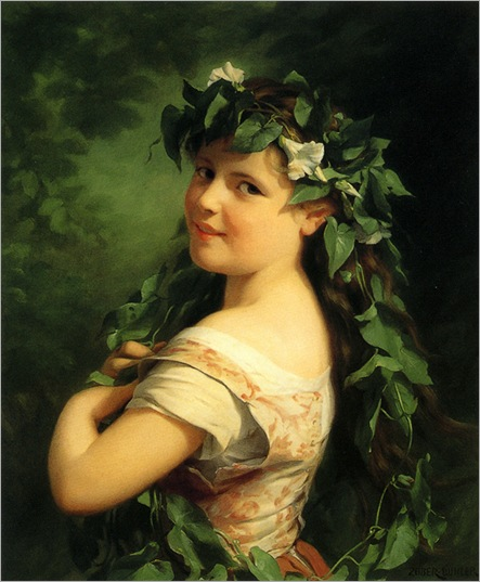 Zuber-Buhler_Girl_with_wreath