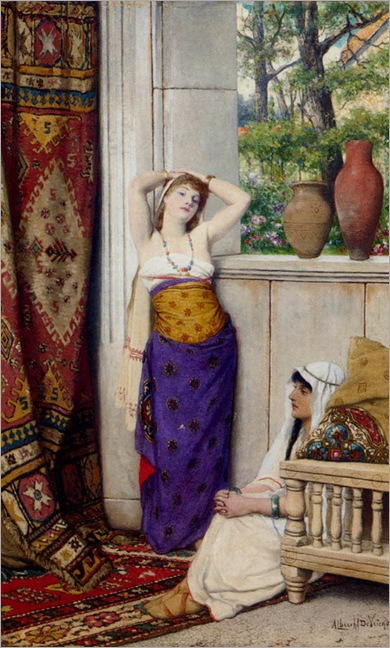 AlbrechtFransLievenVriendt_contemplation_in_the_harem