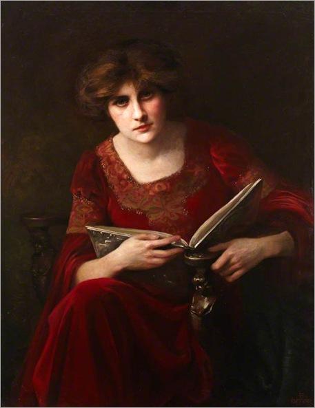 Auntie's Best Bonnet (1905-1917). Beatrice Offor (1864-1920)