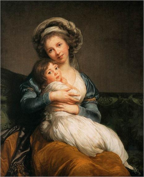 autorretrato-com-a-filha-julie-1786-VIGÉE-LEBRUN