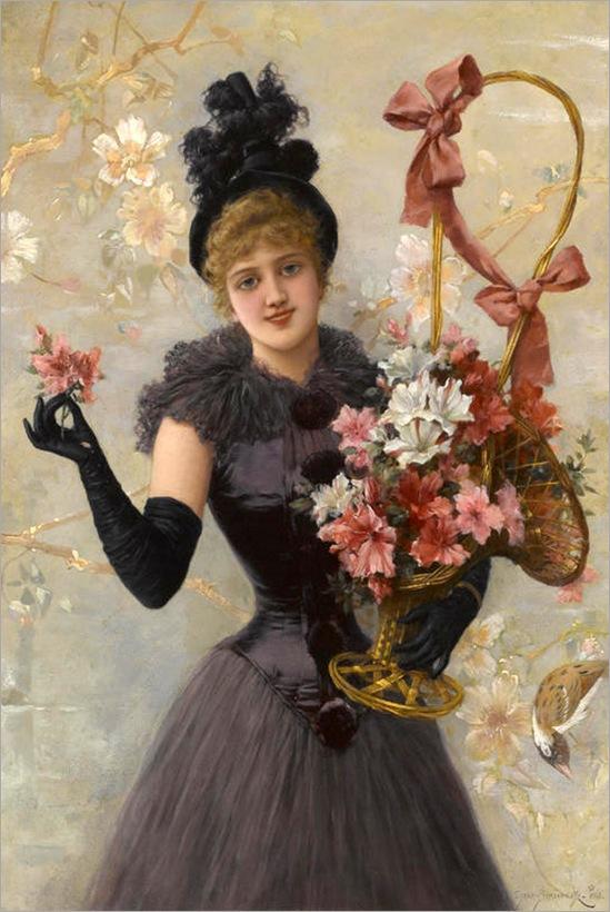 emile-eisman-semenowsky--bouquet