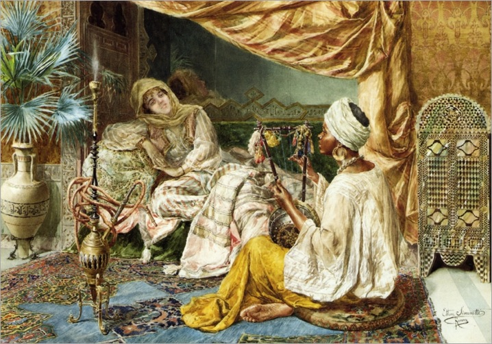 ettore-simonetti-italian-painter1857-1909-a-hour-of-entertainment