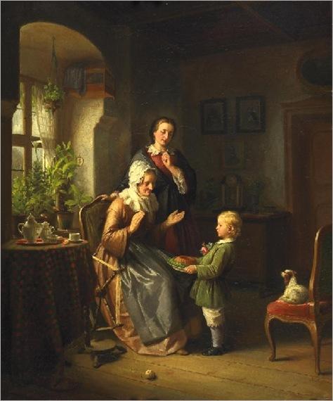 Ferdinand-Meyer-Висмар-The-пирог-де-День рождения
