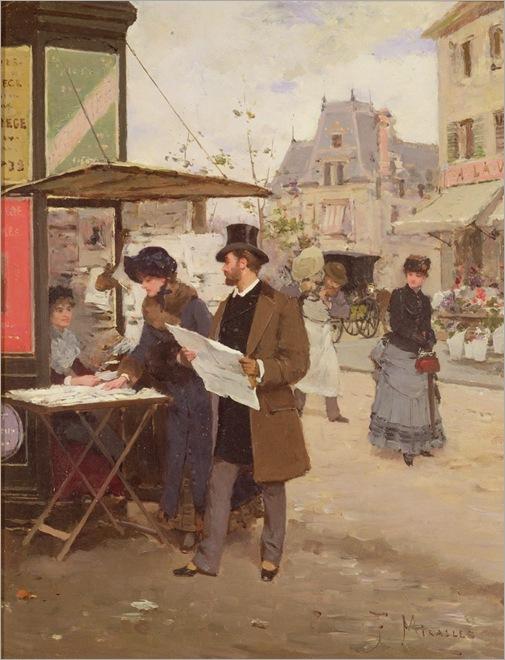 francesco-miralles-a-parisian-street-scene