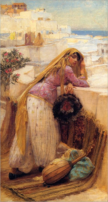 FrederickArthurBridgman-on_the_terrace