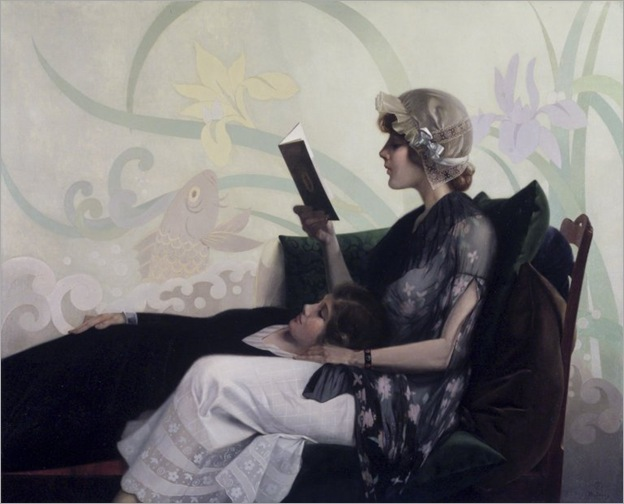 Harry Wilson Watrous - Just a couple of girls-1915