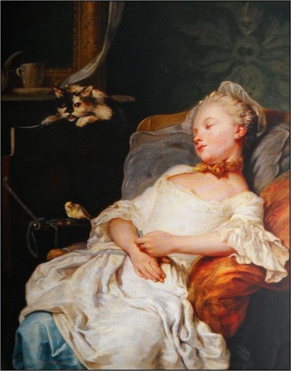 Jean François Gilles Colson (1733-1803) - Le repos, 1759