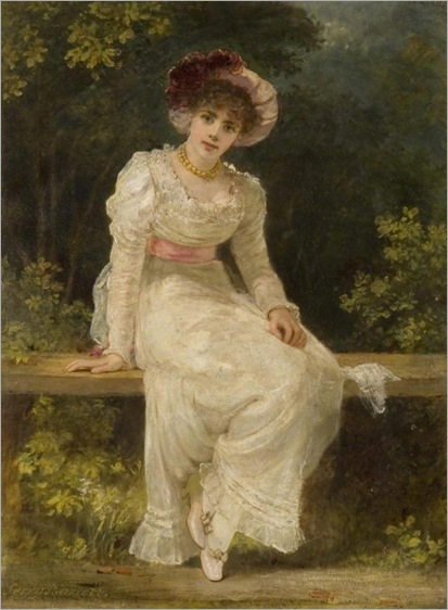 _jerry_barrett_lady_seated_in_a_garden