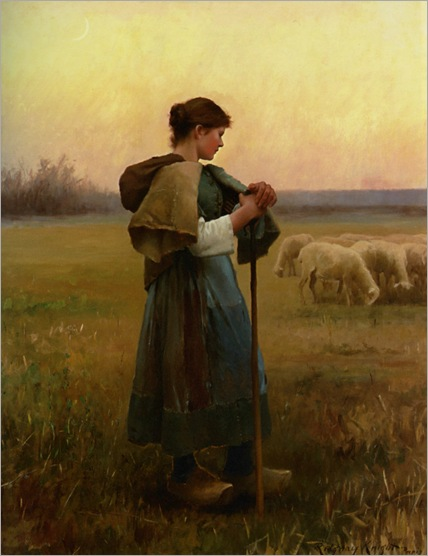 Knight_Daniel_Ridgway_The_Young_Shepherdess_1890
