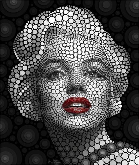 Marilyn-Monroe-by-Ben-Heine