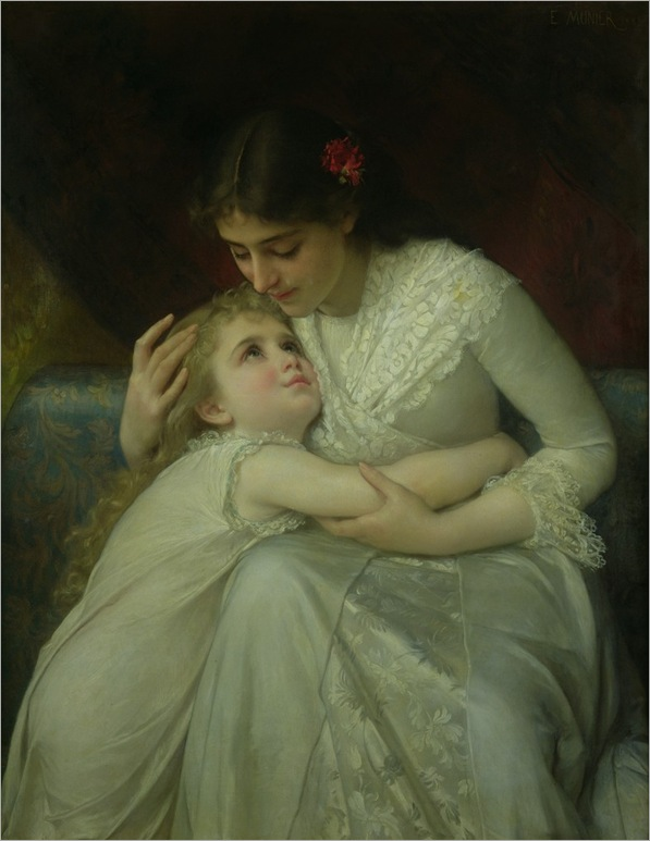 Émile-Munier-mother-and-child
