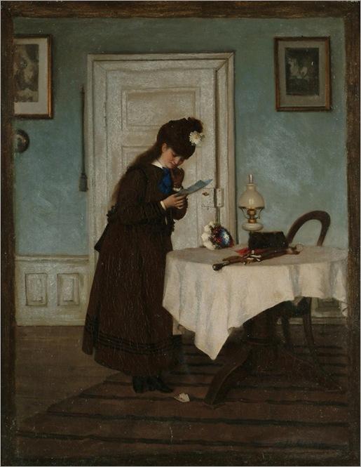 Paul Meyer (1864 - 1909) - The letter