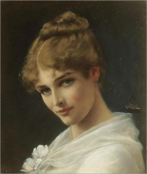 Portrait of a Young Girl - Alfred Seifert
