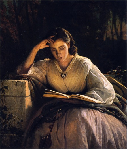 reading-Ivan Nikolaevich Kramskoy