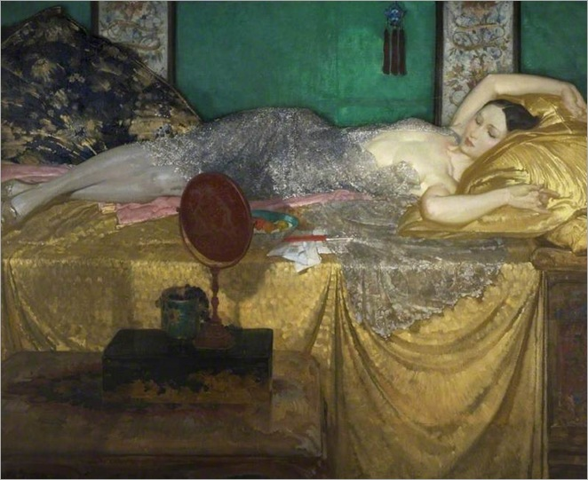 silver-and-gold-William Russell Flint