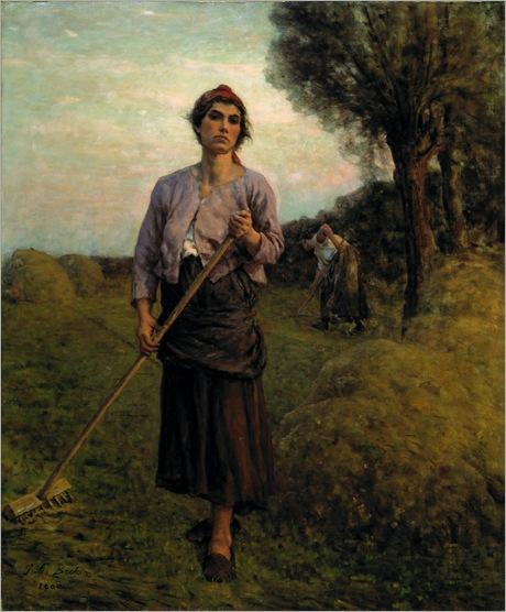 the-gleaners-Jules-Breton
