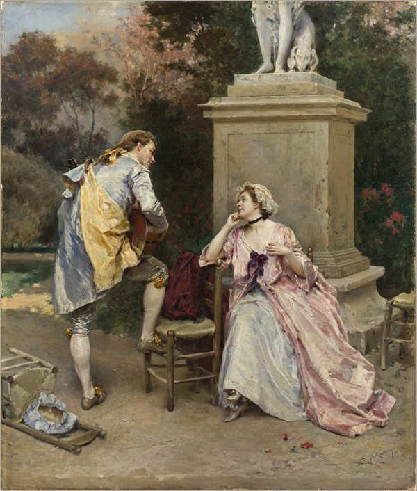 the-serenade-Raimundo-de-Madrazo-y-Garreta