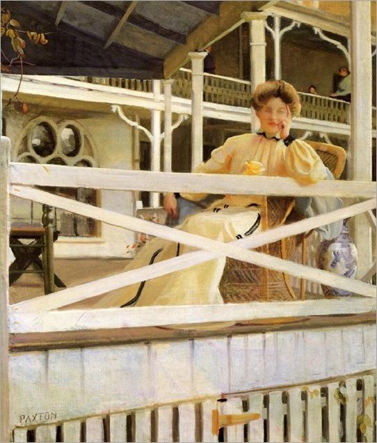the white veranda-paxton