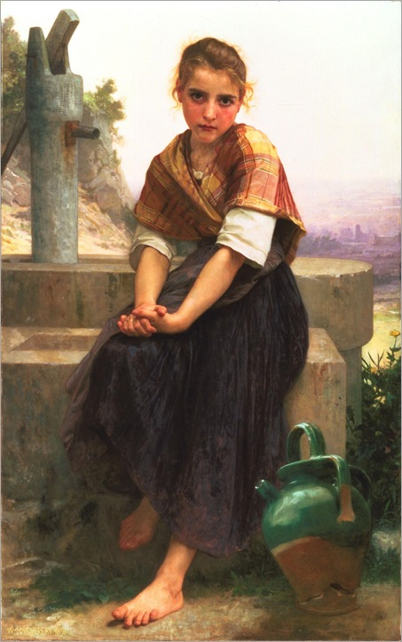 William-Adolphe_Bouguereau_(1825-1905)_-_The_Broken_Pitcher_(1891)