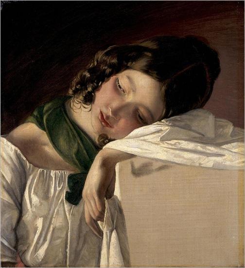 young-girl-Friedrich-von-Amerling-1834