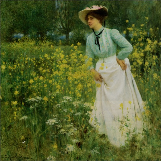 a-morning-walk-Arthur-Hacker