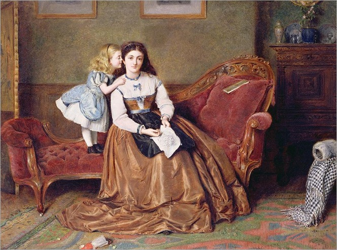 a-mothers-darling-george-goodwin-kilburne