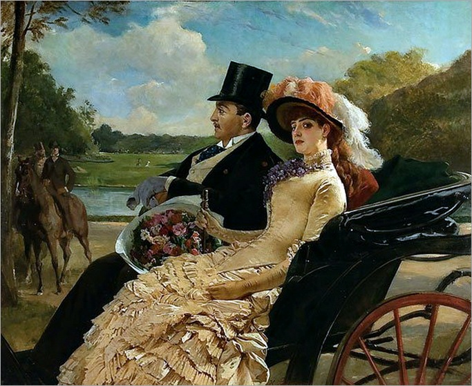 a-ride-in-the-park_by-Henry Guillaume Schlesinger