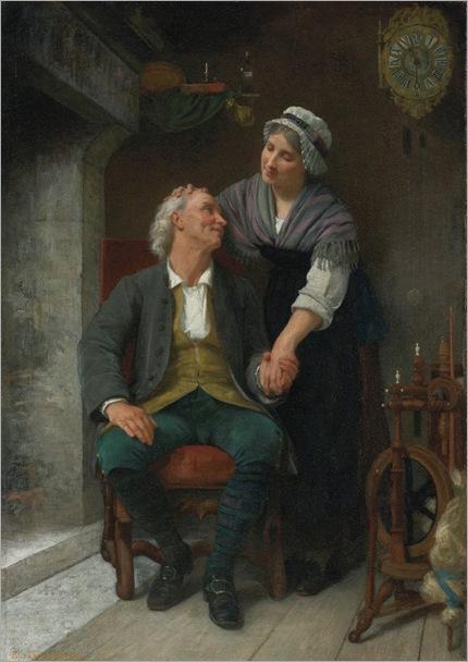 After the Engagement-Elisabeth Jane Gardner Bouguereau