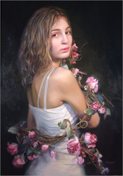 Ardith_Starostka_(2004)_Wrapped_in_roses