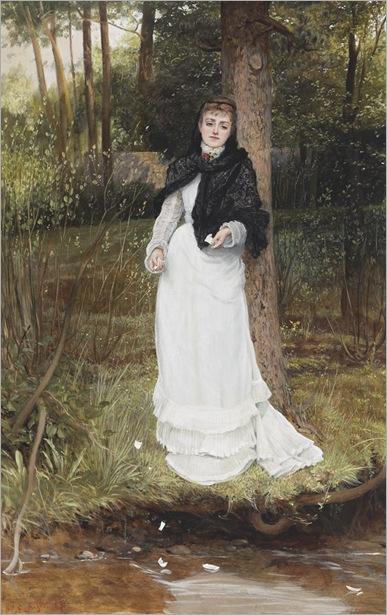 EDWARD KILLINGWORTH JOHNSON (1825-1986) - THE LOVE LETTER