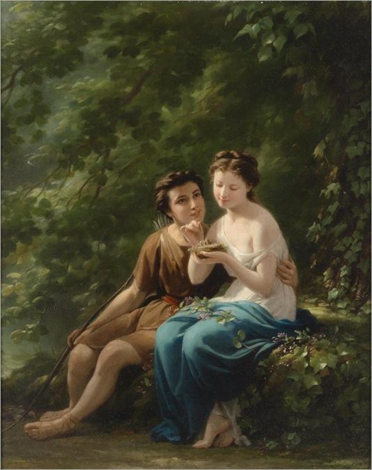 fritz zuber-buhler (Le Locle 1822–1896 Paris) Woodland Idyll_768x972